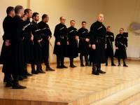 "Women`s choir  ""Rasa"" and men`s choir ""IBERI"" from Georgia were singing in Ogre"